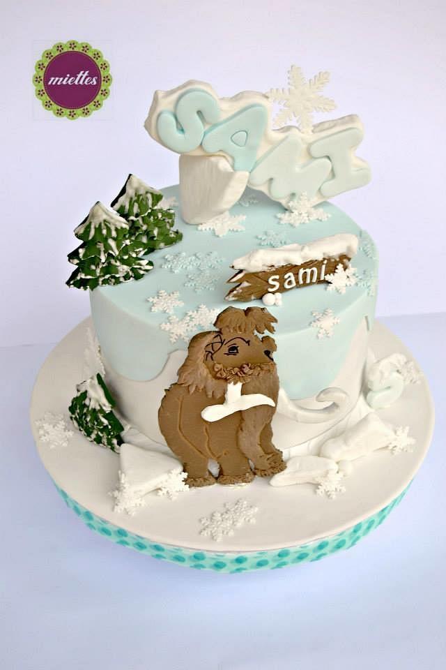 """ice age """"manny"""" cake  cakemiettes  cakesdecor"""