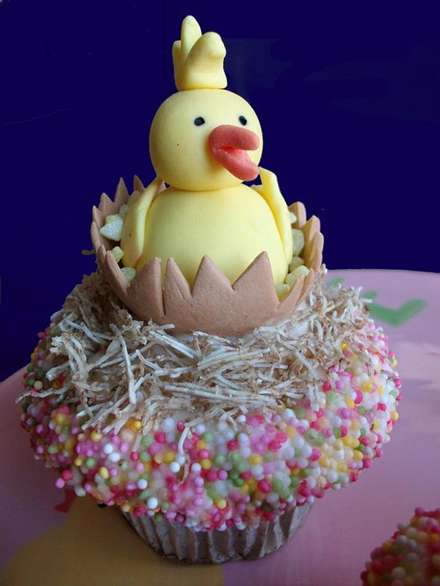 fully edible ducky cupcake