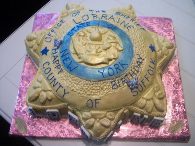 Sheriff cake by Enchanted Cake on FB