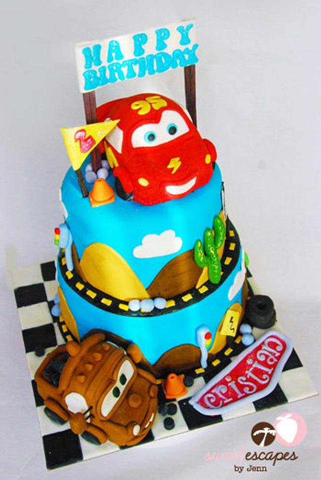 My Very First CARS Cake