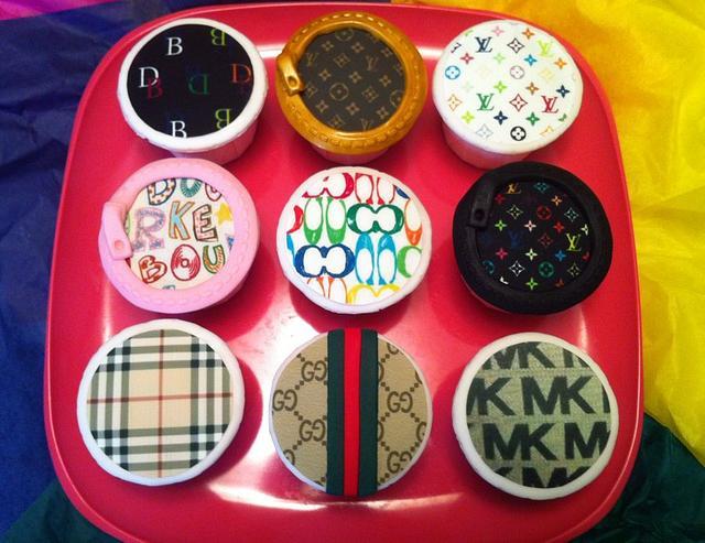 Designer Handbag Cupcakes