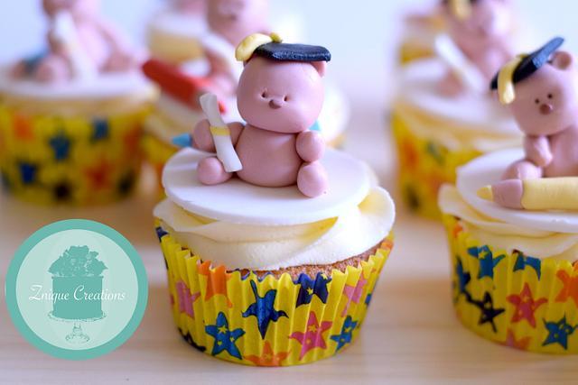 Kindy Graduation Cupcakes