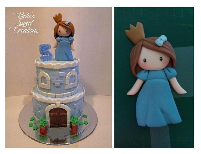 Joana's Birthday Cake Castle
