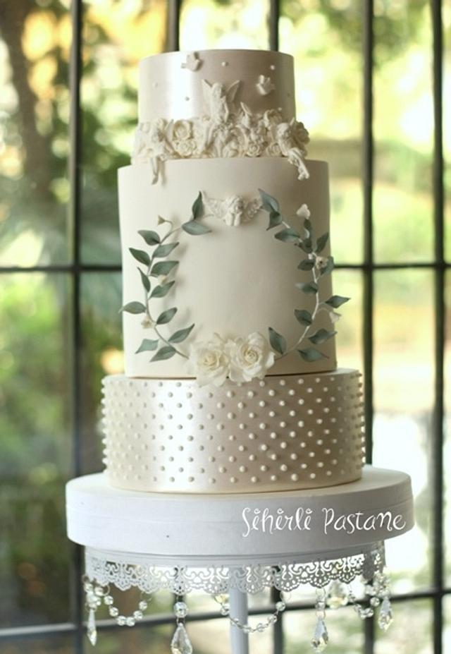 Fairy Wedding Cake