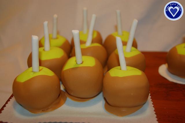 Texas State Fair - Caramel Apples