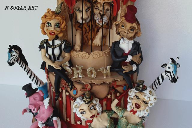 Vintage freak circus