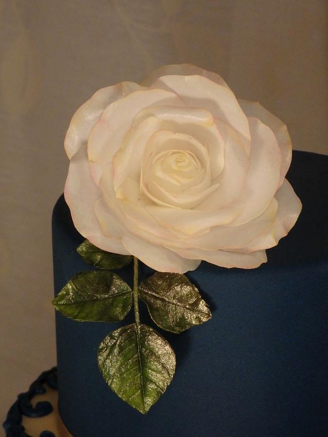 January wedding cake