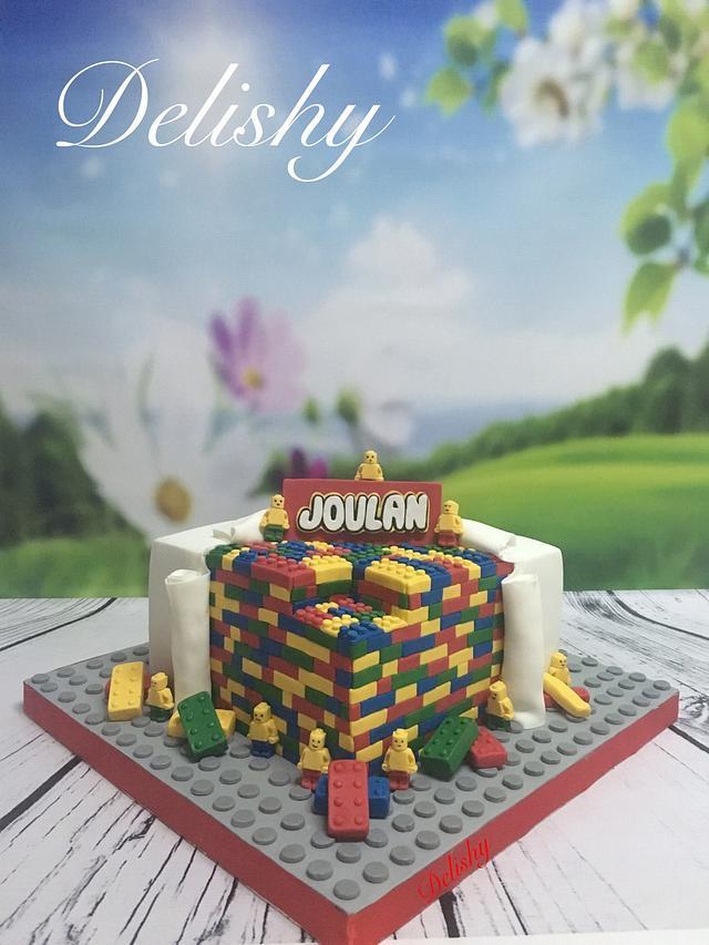 My first Lego cake