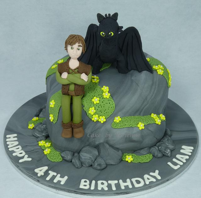 Peachy How To Train Your Dragon Birthday Cake Cake By Cakes By Cakesdecor Personalised Birthday Cards Veneteletsinfo
