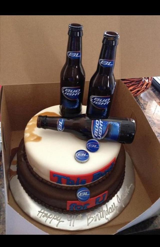 This Bud for U Cake