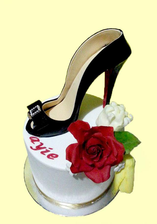 Cool High Heel Birthday Cake Cake By Julie Manundo Cakesdecor Birthday Cards Printable Opercafe Filternl