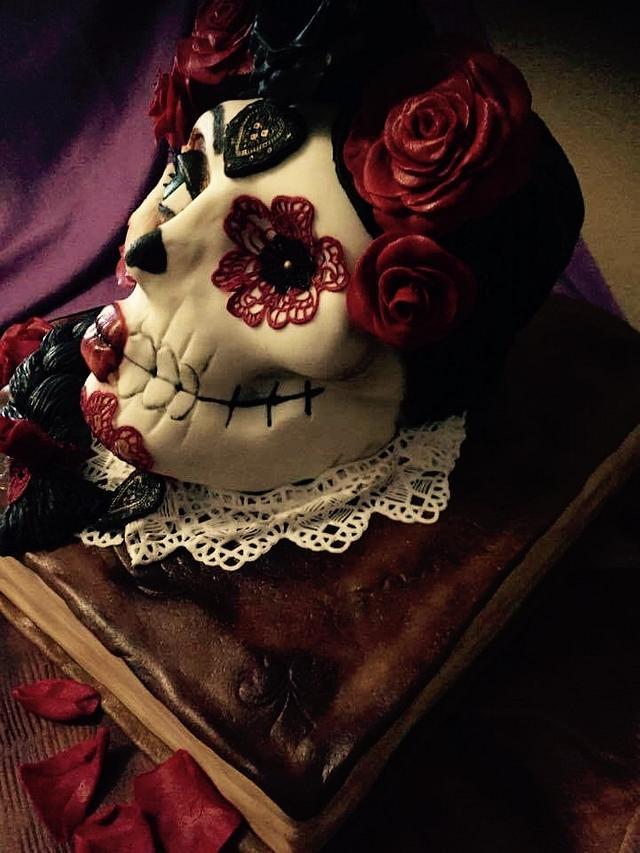Día de los muertos cake