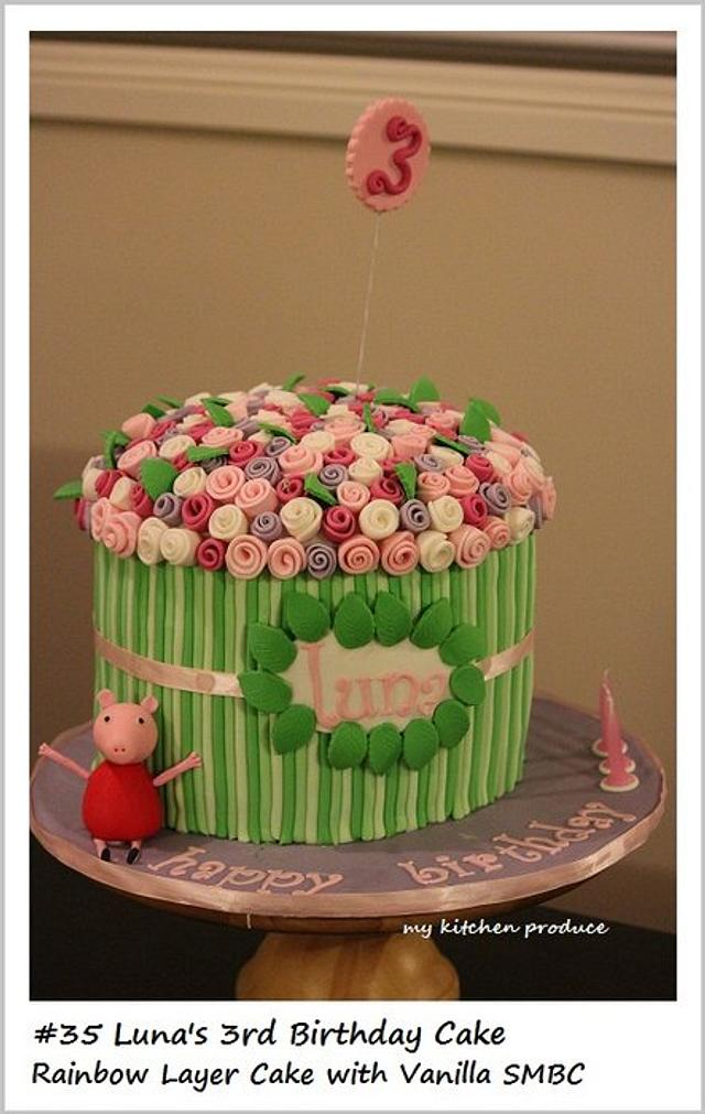 Rose Bouquet - Peppa Pig