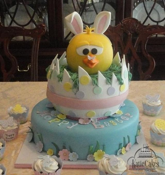 "Easter ""Bunny"" Cake"