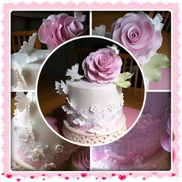 My birthday cake, made by me