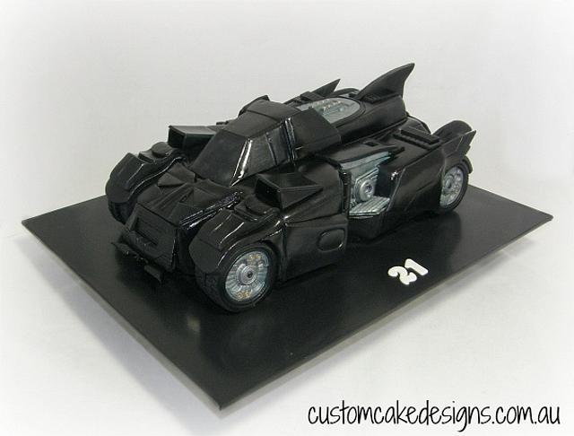 Batman Arkham Knight Car