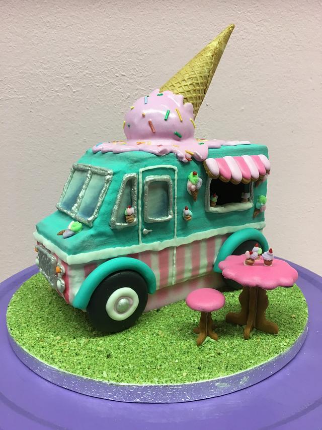Cookie Icecream food truck (workshop De Koekenbakkers)