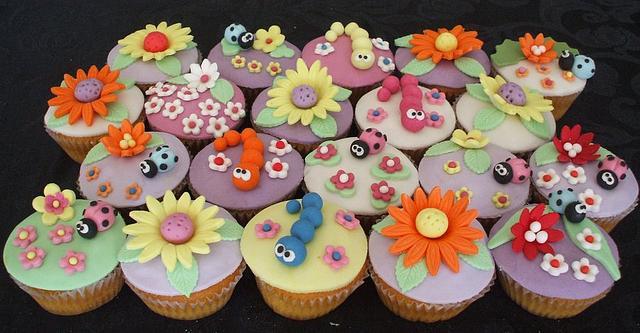 Spring's cupcakes