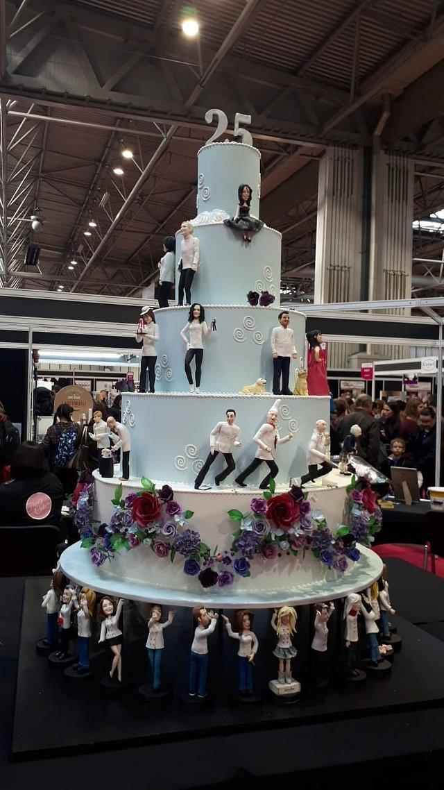 Saracino's Featured Piece For Cake International 25th Anniversary