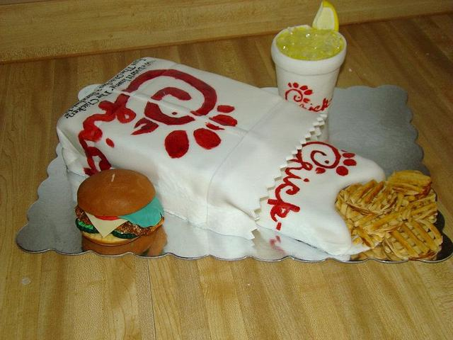Chick-Fil-A combo Meal