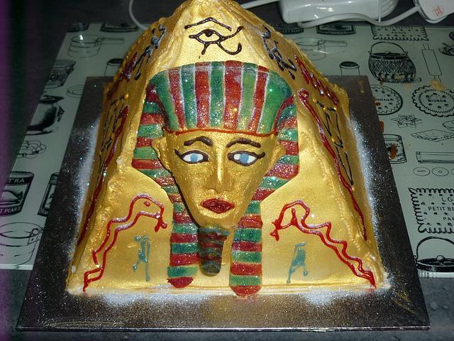 "my fourth ever cake ""egyption"""