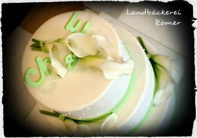 Wedding Cake Royal Calla Lily
