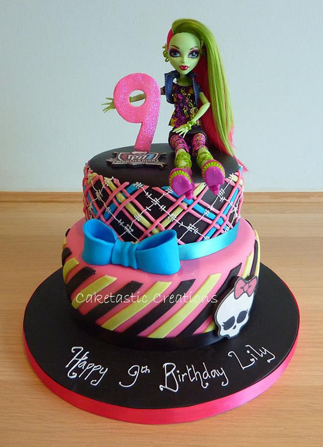 Monsters High Cake By Caketastic Creations Cakesdecor
