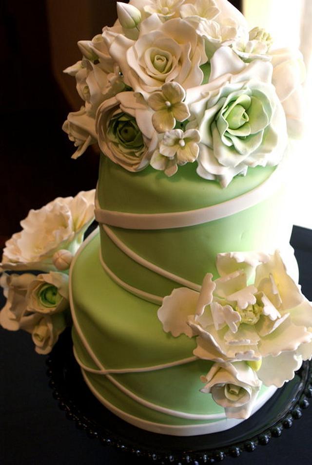 First REAL wedding cake