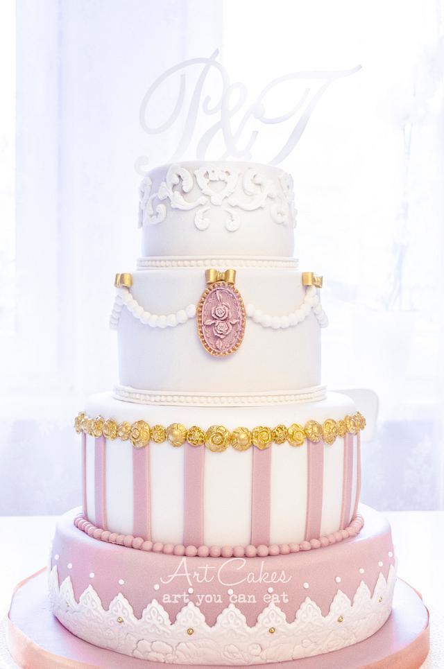 Viennese Wedding Cake