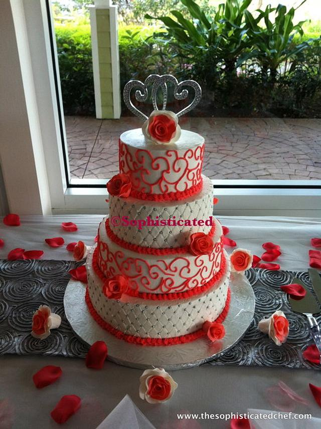 Very first wedding cake