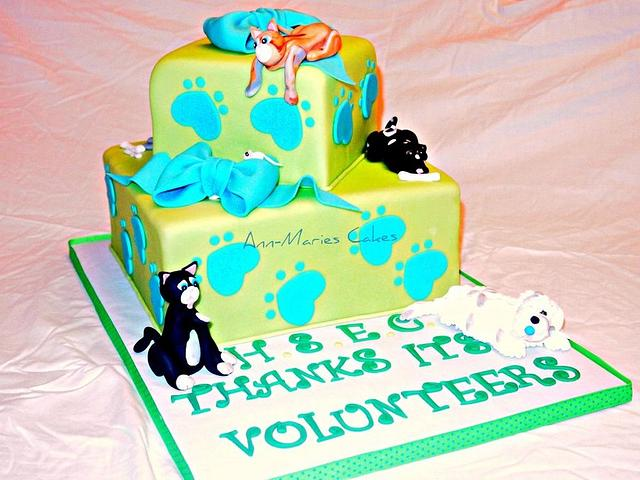 Donated Cake to The Humane Society