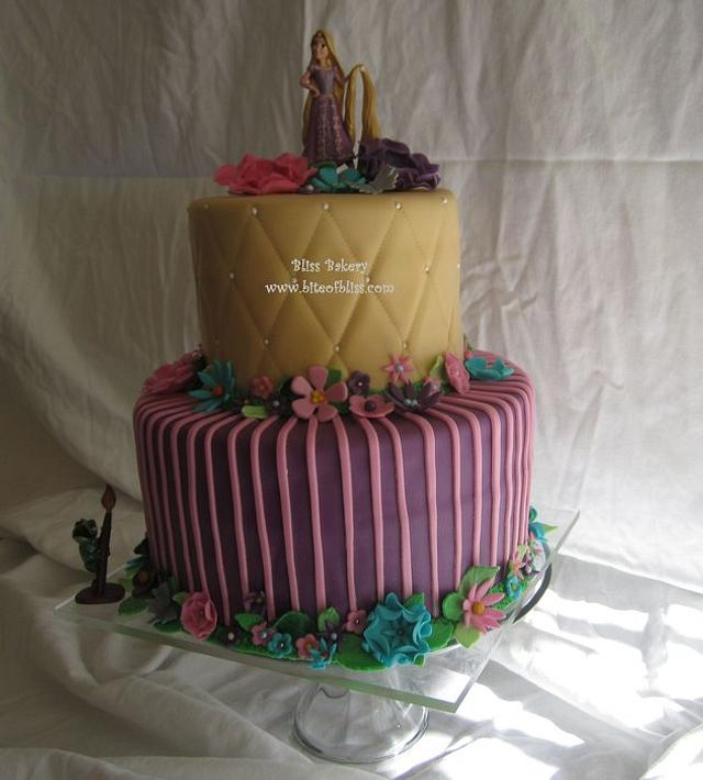 Prime Tangled Birthday Cake Cake By Meredyth Hite Cakesdecor Funny Birthday Cards Online Overcheapnameinfo