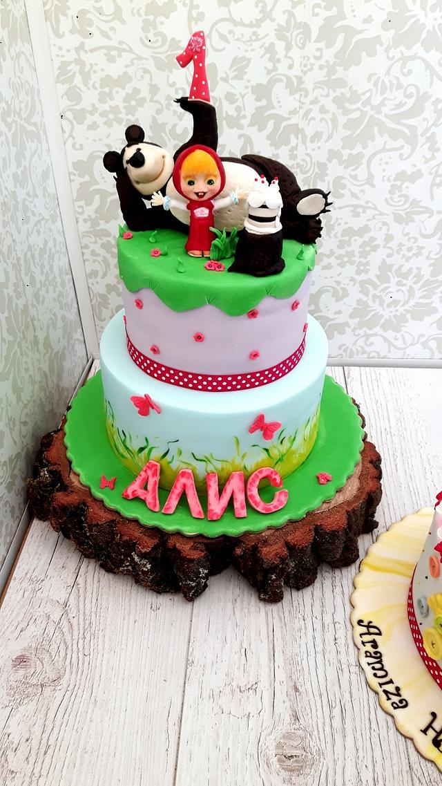 Masha and Bear cakes
