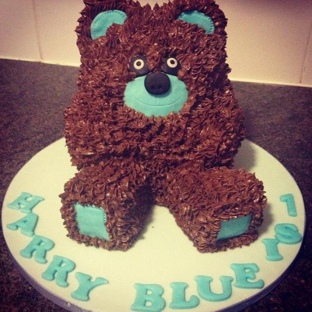 My 1st 3D cake