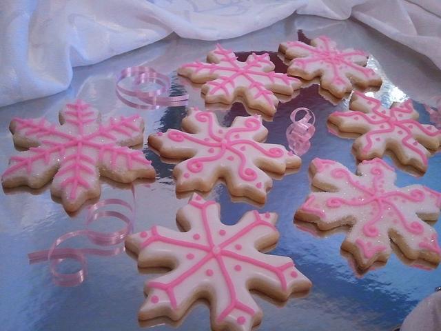 Let it Snow, Let it Snow, Let it Snow Sugar Cookie Favors