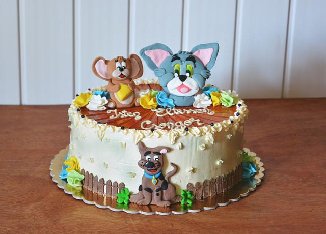 Tom, Jerry and Scooby-Doo