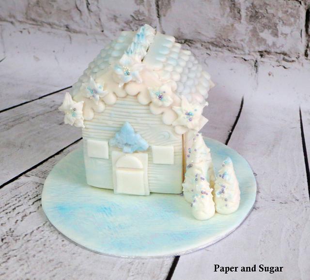 Winter Wonderland Cookie House