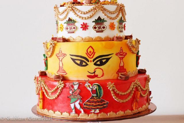 Navaratri Cake