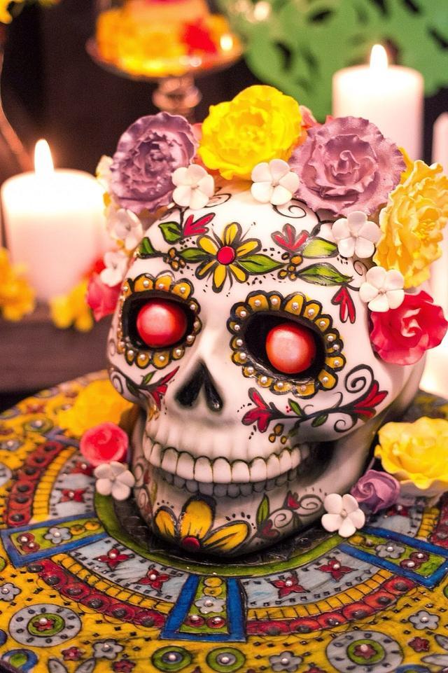 Book of Life Sugar Skull
