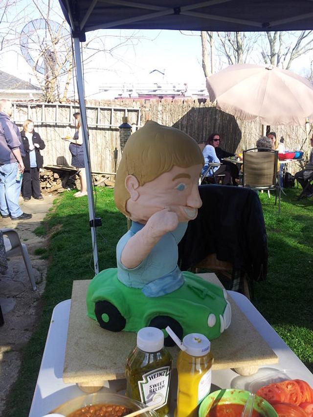 Grandson's Birthday Cake