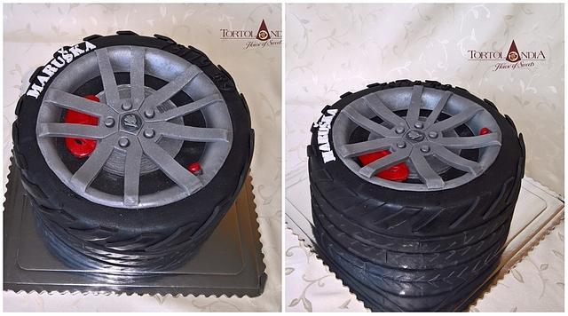 Sports tire Škoda