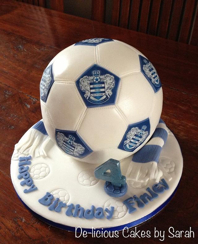 QPR Football cake
