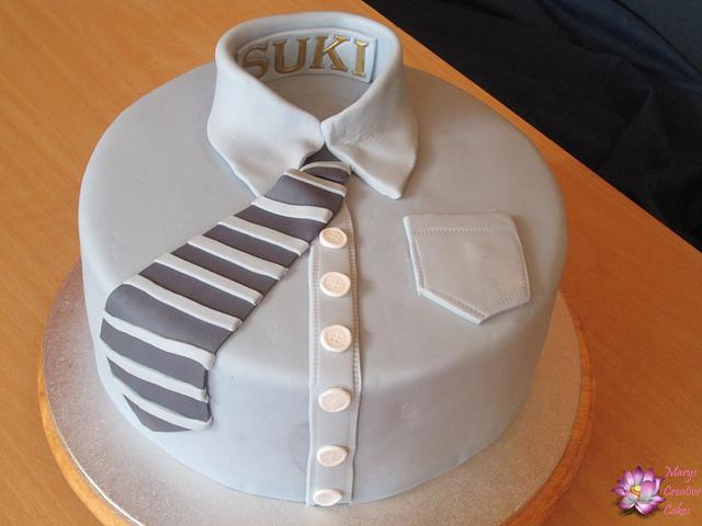 Shirt Birthdaycake for men