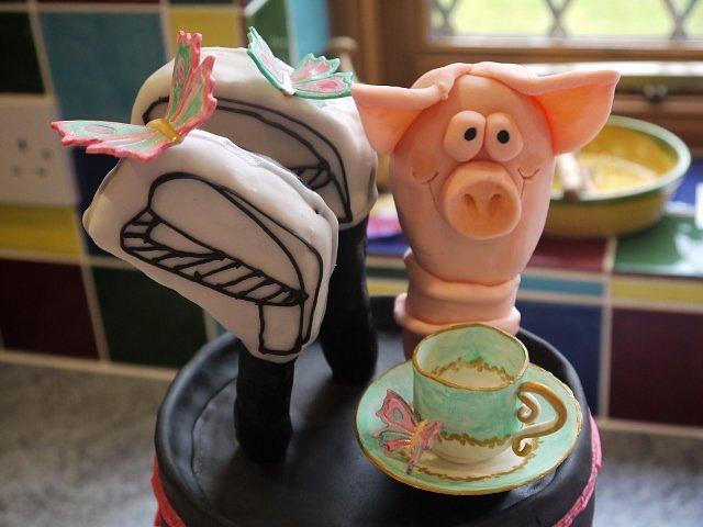 Golf Bag Cake...