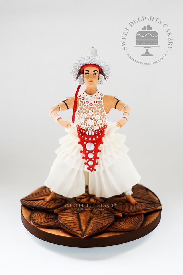 Sri Lankan Kandyan Dancer - Sugar Art Museum