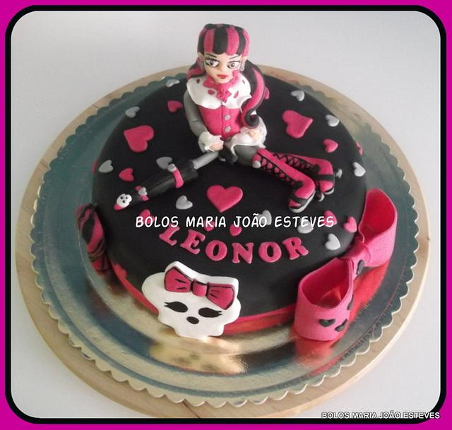 Astonishing Monster High Draculaura Cake By Esteves Cakesdecor Funny Birthday Cards Online Hendilapandamsfinfo