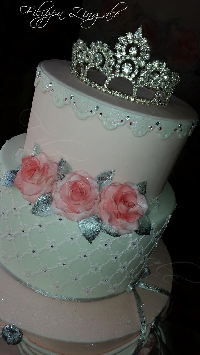 Elegant princess pink