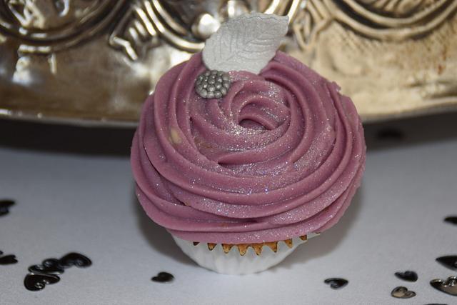 Nut free 2 tier heart wedding cake