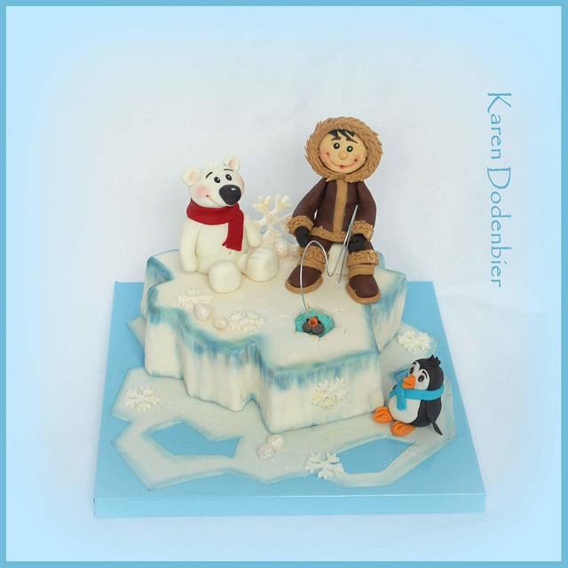 Little Eskimo and friends!
