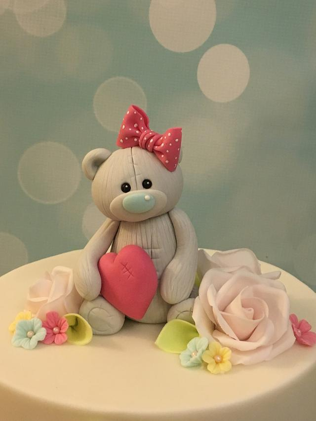 Pretty Teddy Cake